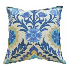 Santa Maria Blue Floral Indoor Outdoor Cushion