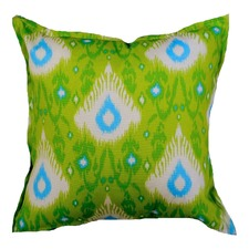 Green Henna Indoor Outdoor Cushion