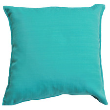Aqua Solid Outdoor Cushion