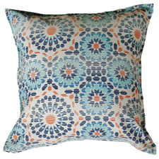 Blue Riad Tile Outdoor Cushion