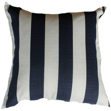 Blue & White Stripe Outdoor Cushion