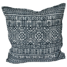 Indigo Batik Outdoor Cushion