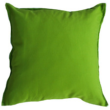 Green Solid Outdoor Cushion