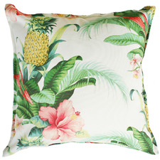 Multi-Coloured Floral Outdoor Cushion