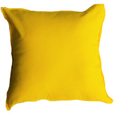 Yellow Solid Outdoor Cushion