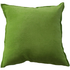 Apple Green Velvet Cushion