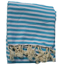 Striped Turkish Cotton Beach Towel