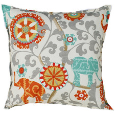 Ornate Elephant Outdoor Cushion
