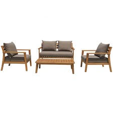 4 Seater Verona Outdoor Lounge & Coffee Table Set