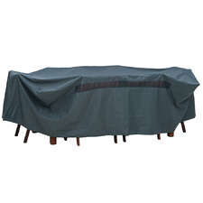Grey 6-Seater Furniture Cover
