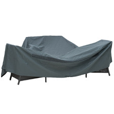 Grey 5-Seater Lounge Furniture Cover