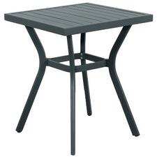 Charcoal Soul Outdoor Bistro Table