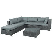 5 Seater Soul PE Wicker Outdoor Lounge Set