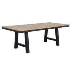 Natural Fusion Trestle Leg Outdoor Dining Table