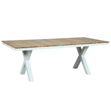 Natural Fusion X-Leg Outdoor Dining Table