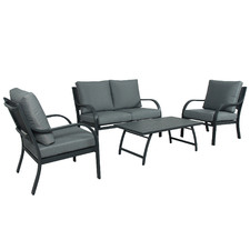 4 Seater Rose Outdoor Lounge Set