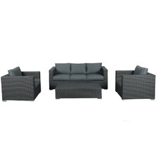 5 Seater Soul PE Wicker Outdoor Sofa Set