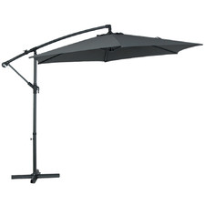 3 x 3m Arabian Cantilever Push Up Umbrella