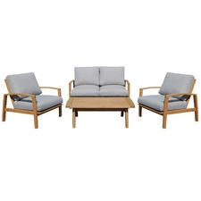 4 Seater Napa Wooden Outdoor Sofa Set