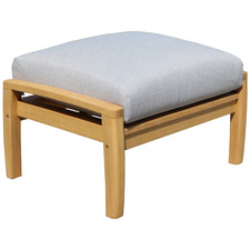 Napa Wooden Outdoor Ottoman