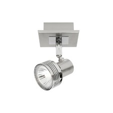 Mercury 1 Light Ceiling or Wall Spotlight in Satin Chrome