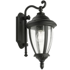 Black Oxford Outdoor Wall Light