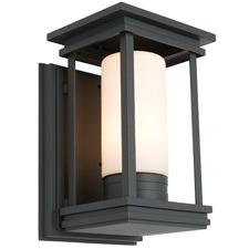 Black Norfolk Outdoor Wall Light