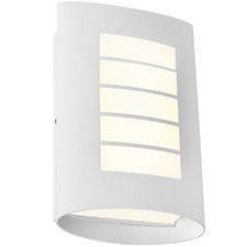 White Bicheno Exterior Wall Light