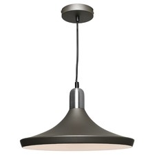 Satin Chrome Dusty Pendant Light
