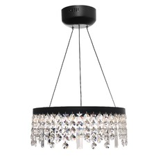 Majestic Crystal Pendant Light