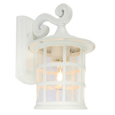 Indra 1 Light Exterior Wall Light