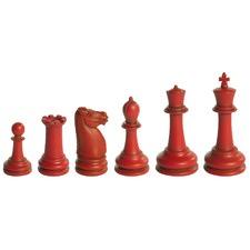 Museum Classic Staunton Chess Set (4-8cm)