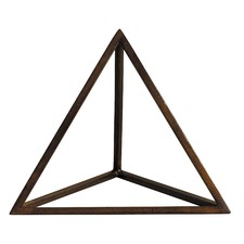 Tetrahedron Decorative Accent