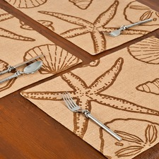 Eco-Accents Designs Shell Placemat