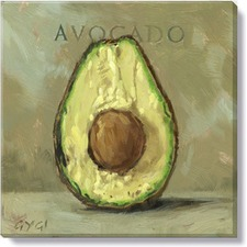 Gygi Avocado Canvas Wall Art