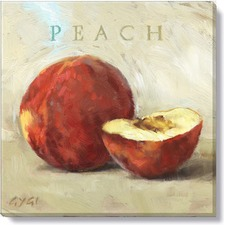 Gygi Peach Canvas Wall Art