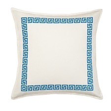 Eco-Accents Designs Greek Key Pillow