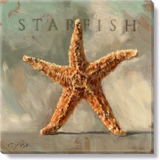 Gygi Starfish Canvas Wall Art
