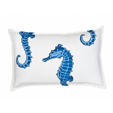 Eco-Accents Designs Seahorse Pillow