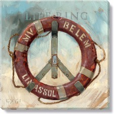 Gygi Life Ring Canvas Wall Art