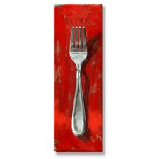 Gygi Fork Canvas Wall Art