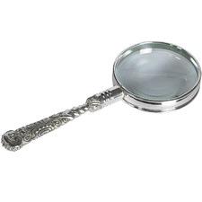 Rococo Magnifier in Silver