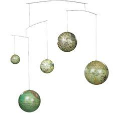 5 Piece Globe Mobile