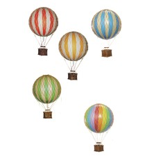 Floating-the-Skies Balloon Ornament in Blue