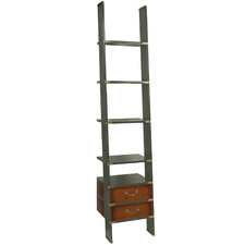 Grey Dorian Ladder Shelf