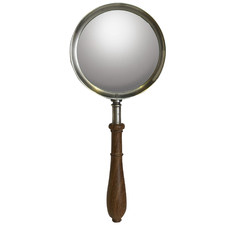 Silver Regency Rosewood Magnifying Glass