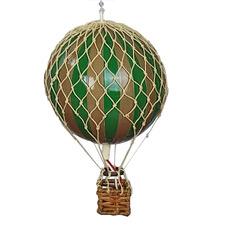 Travels Light Hot Air Balloon Hanging Ornament