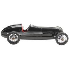 Black Silver Arrow Car Ornament