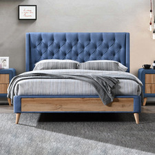 Maxwell Upholstered Queen Bed Frame