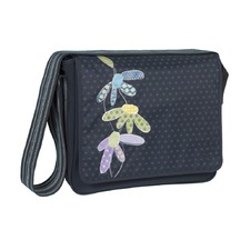 Nappy Casual Flowerpatch Messenger Bag